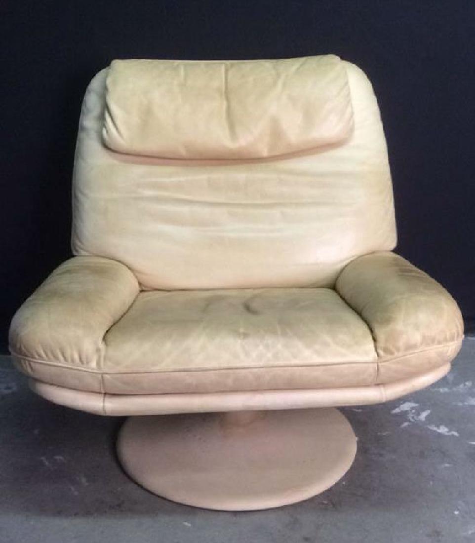 Set 2 de SEDE Leather Chair & Ottoman, Switzerland - 2