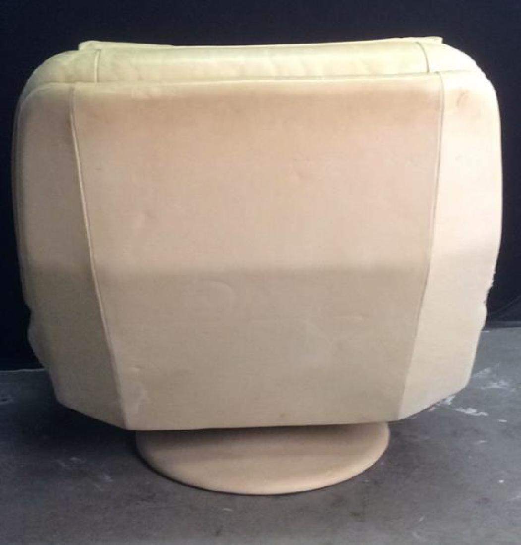 Set 2 de SEDE Leather Chair & Ottoman, Switzerland - 6