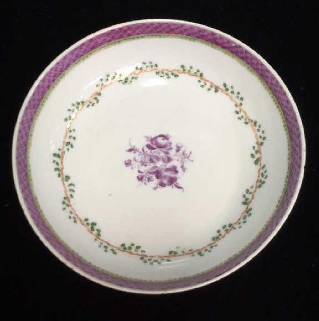 Lot 2 Antique Hand Painted Porcelain Bowls