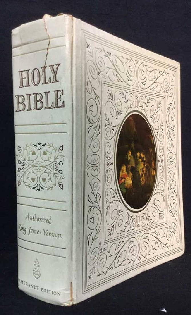 Antique AUTHORIZED KING JAMES VERSION HOLY BIBLE