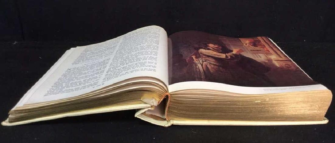 Antique AUTHORIZED KING JAMES VERSION HOLY BIBLE - 5