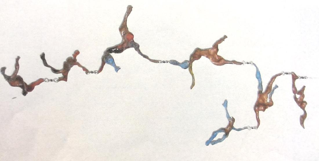 David Burt 'Skyscapade' Art Sculpture Mobile
