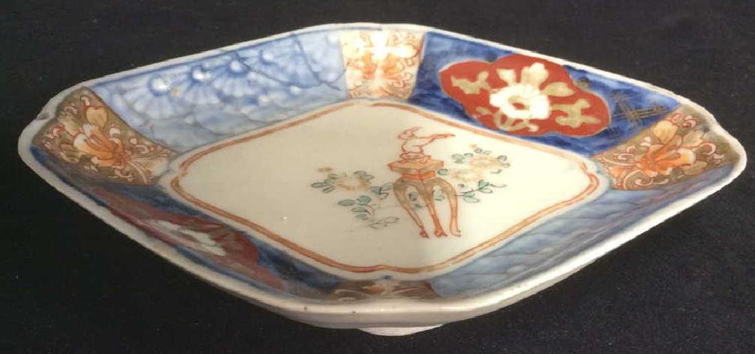 Lot 2 Vintage Chinese Trinket Dishes - 5