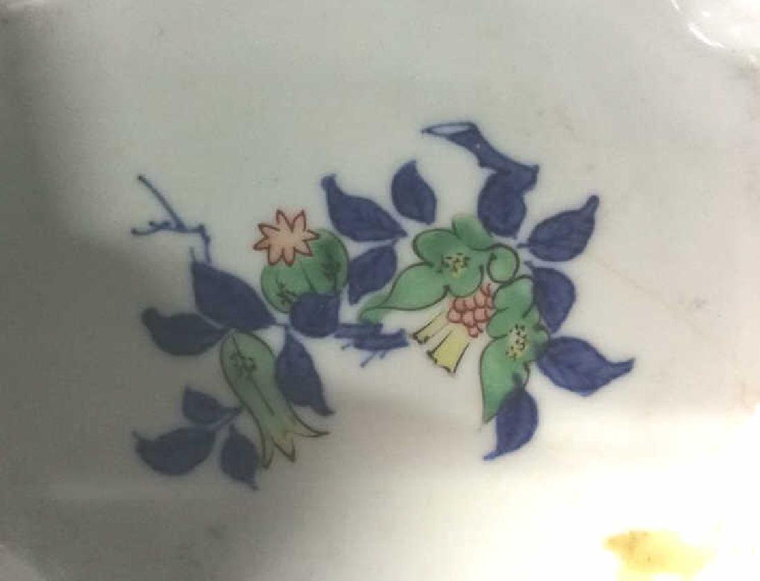 Lot 2 Vintage Chinese Trinket Dishes - 8