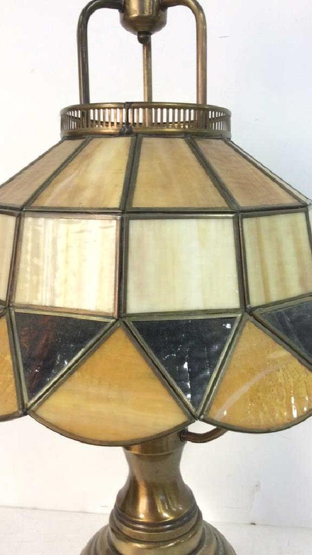 Stained Glass Tiffany Style Lamp - 2