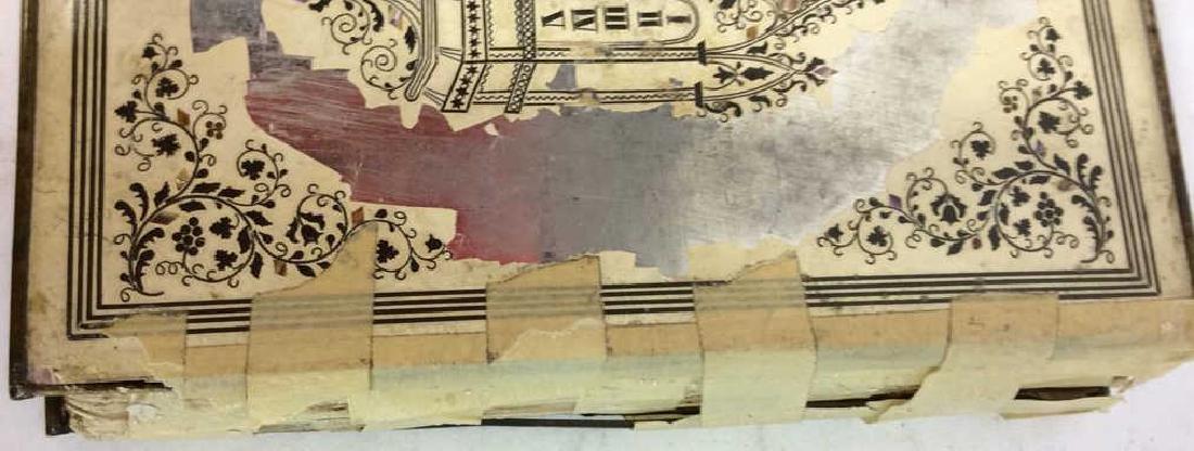 Lot 3 Antique Judaica Books - 3
