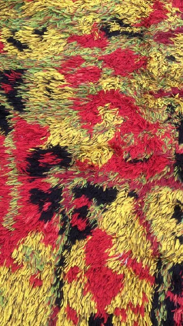 Multi Toned Modern Wool Rug Carpet - 4