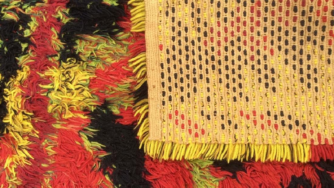 Multi Toned Modern Wool Rug Carpet - 5