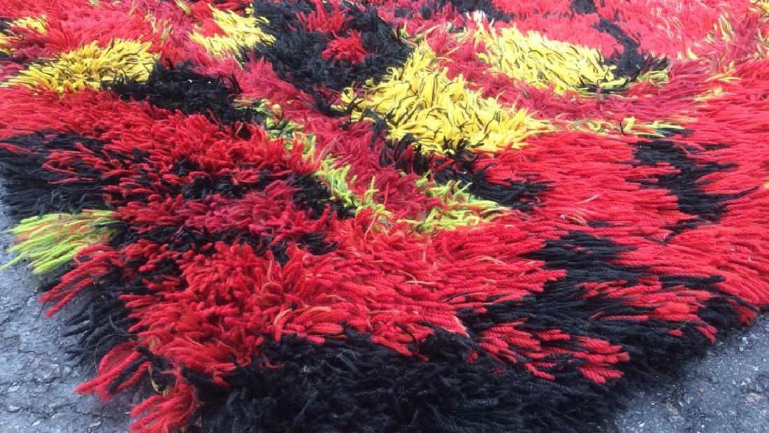 Multi Toned Modern Wool Rug Carpet - 6
