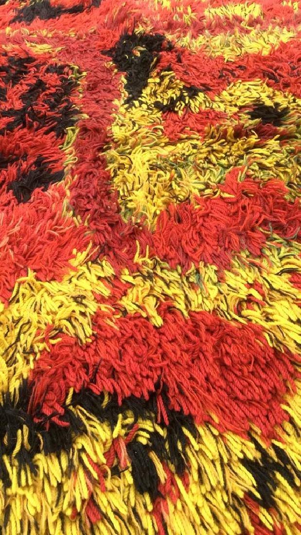 Multi Toned Modern Wool Rug Carpet - 9