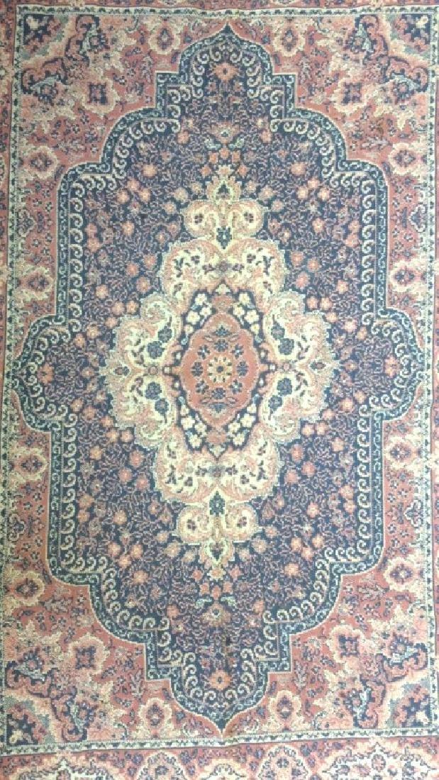 Handmade Multi Toned Fringed Wool Blanket - 3