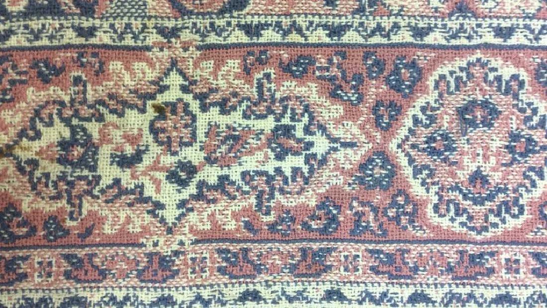 Handmade Multi Toned Fringed Wool Blanket - 7