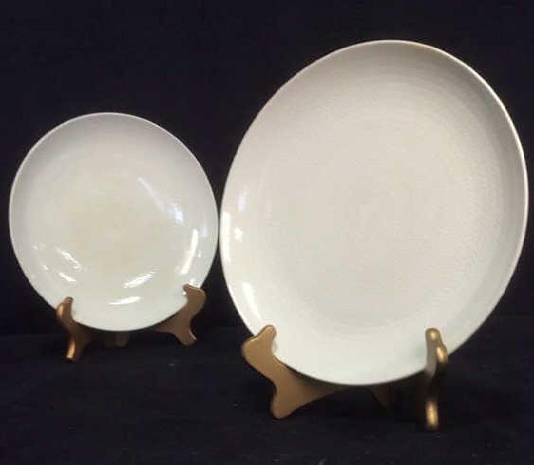 Lot 9 BLUE FIRE by ROSTRAND Dinner Plates - 10