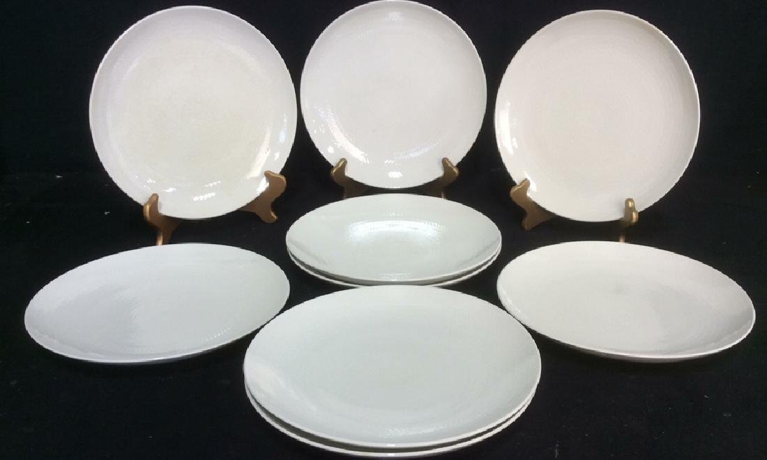 Lot 9 BLUE FIRE by ROSTRAND Dinner Plates