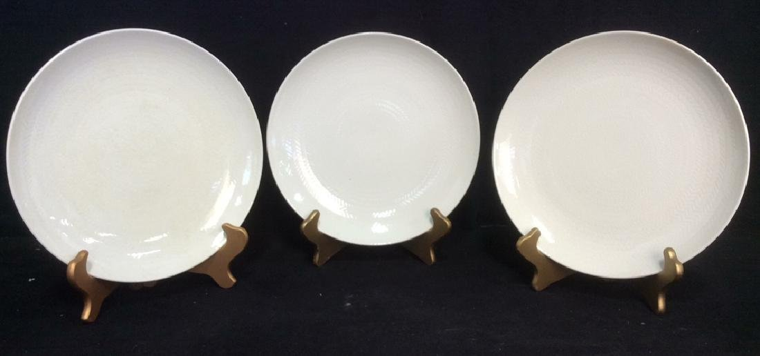 Lot 9 BLUE FIRE by ROSTRAND Dinner Plates - 2