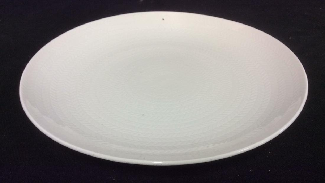 Lot 9 BLUE FIRE by ROSTRAND Dinner Plates - 7