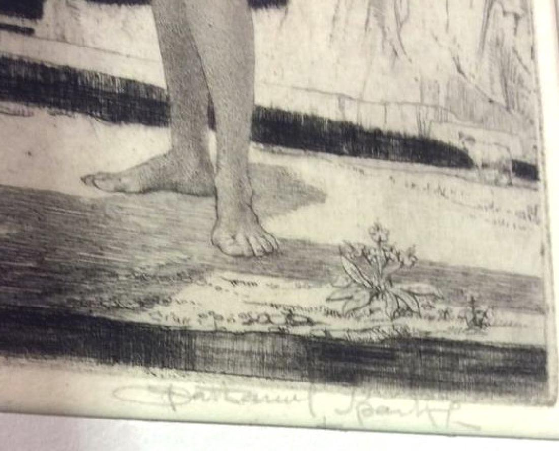 Signed Nathaniel Sparks Shadow and Shade Drypoint - 4