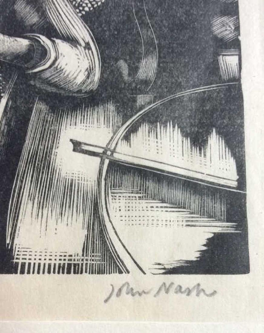Signed John Nash Reading Aquatint 1925 - 2