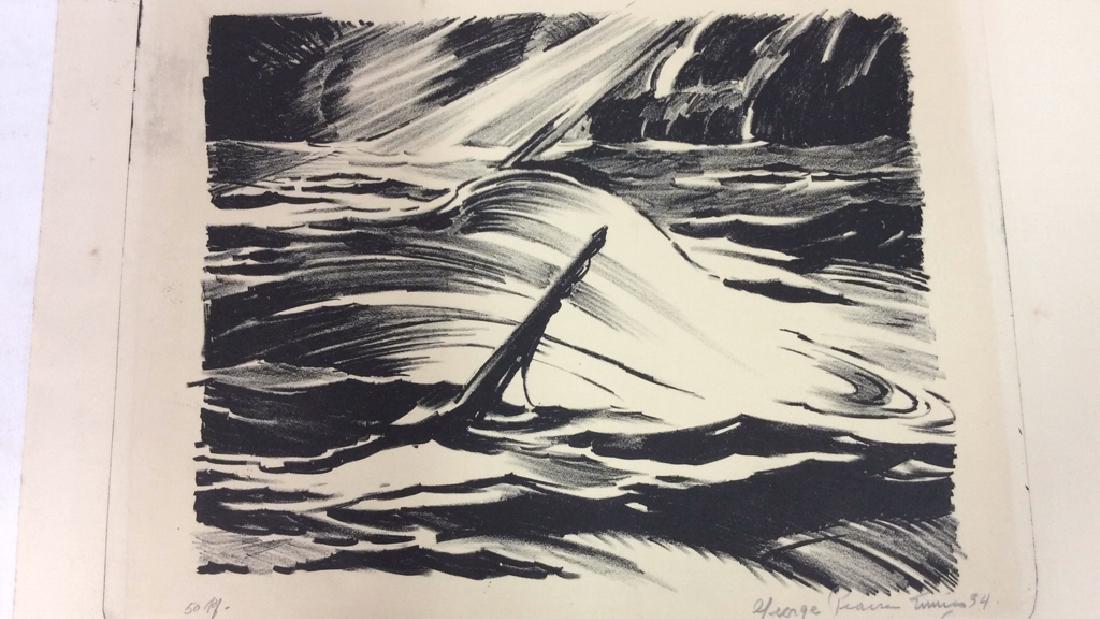 Signed Sinking Ship Artwork