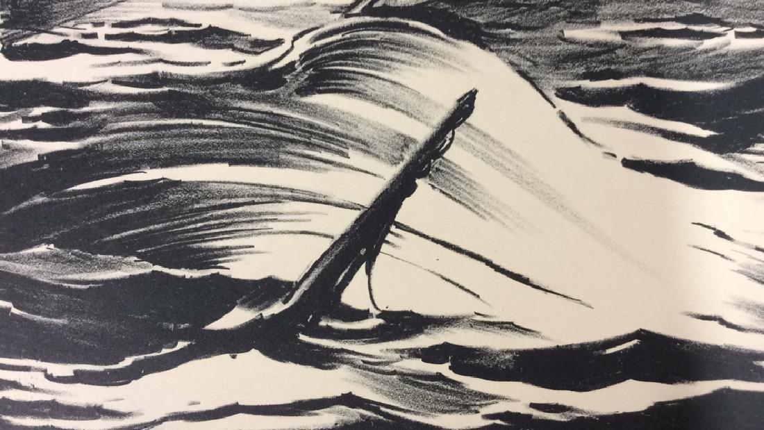 Signed Sinking Ship Artwork - 2