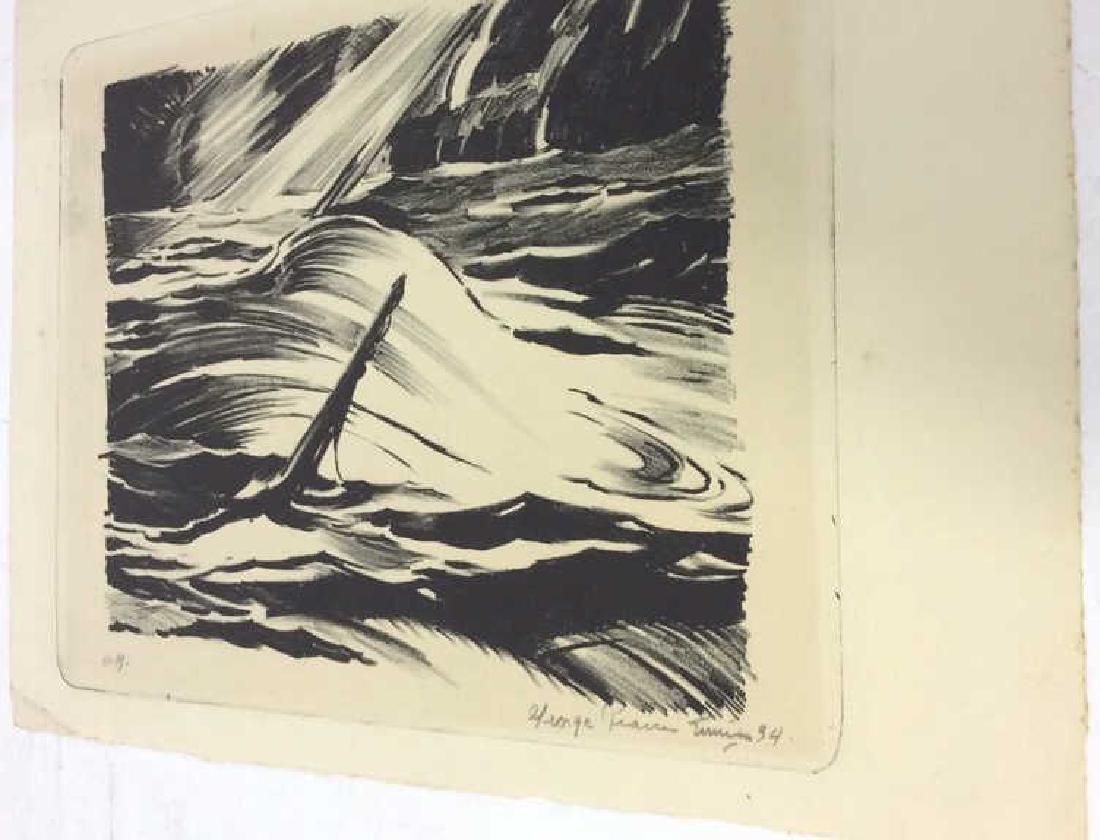 Signed Sinking Ship Artwork - 5