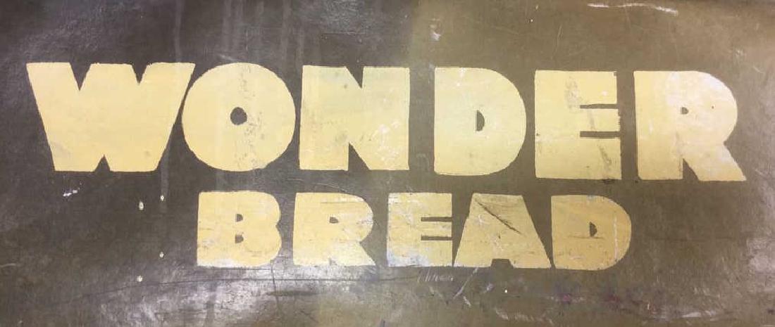 Vintage Painted Wonder Bread Delivery Bin - 9