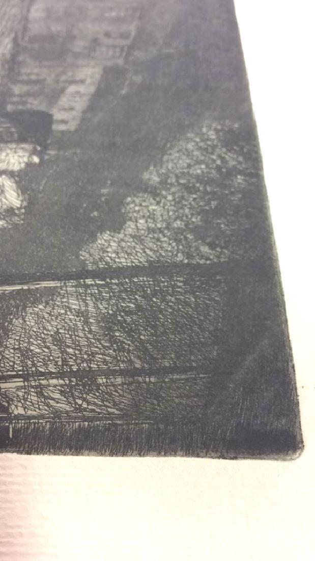 H. Stuart Brown Etching Artwork - 6