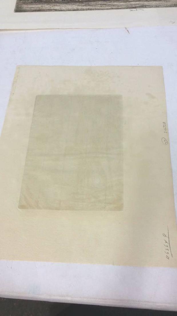 H. Stuart Brown Etching Artwork - 7