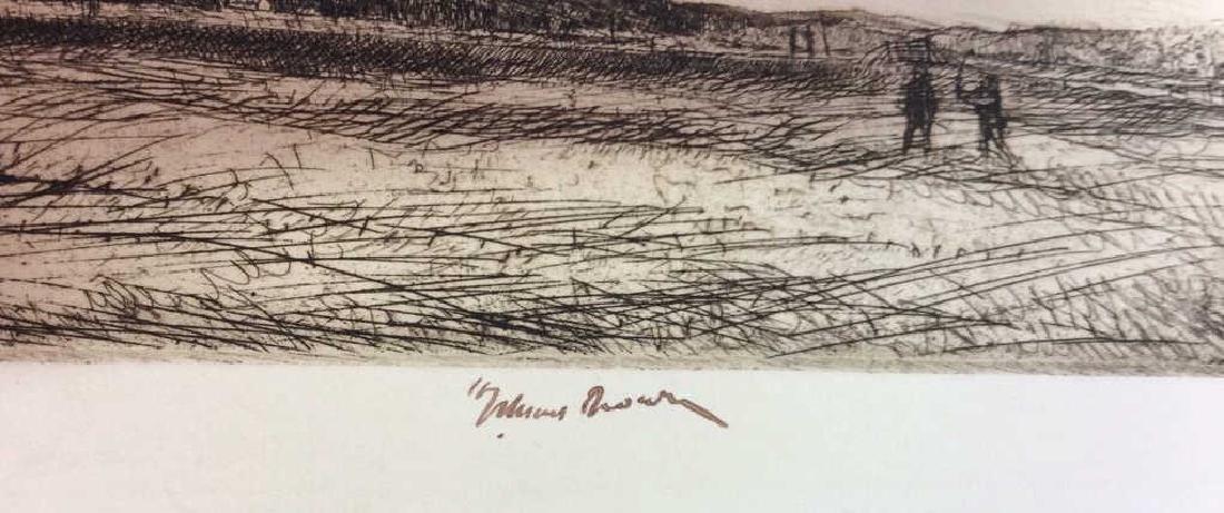 H. Stuart Brown Etching Artwork - 2