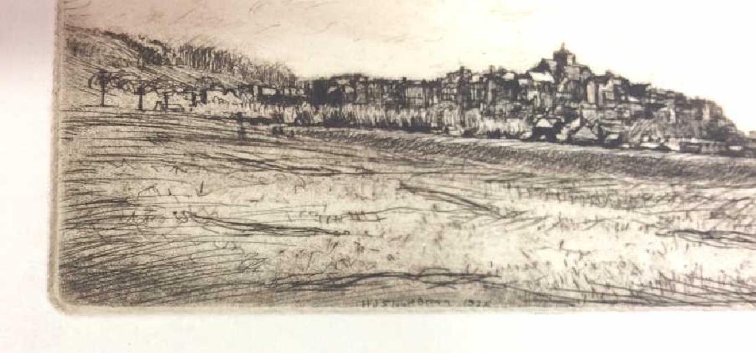 H. Stuart Brown Etching Artwork - 3