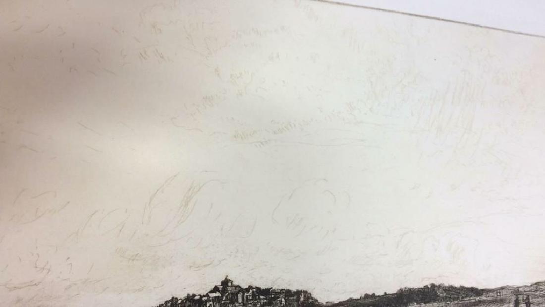 H. Stuart Brown Etching Artwork - 5