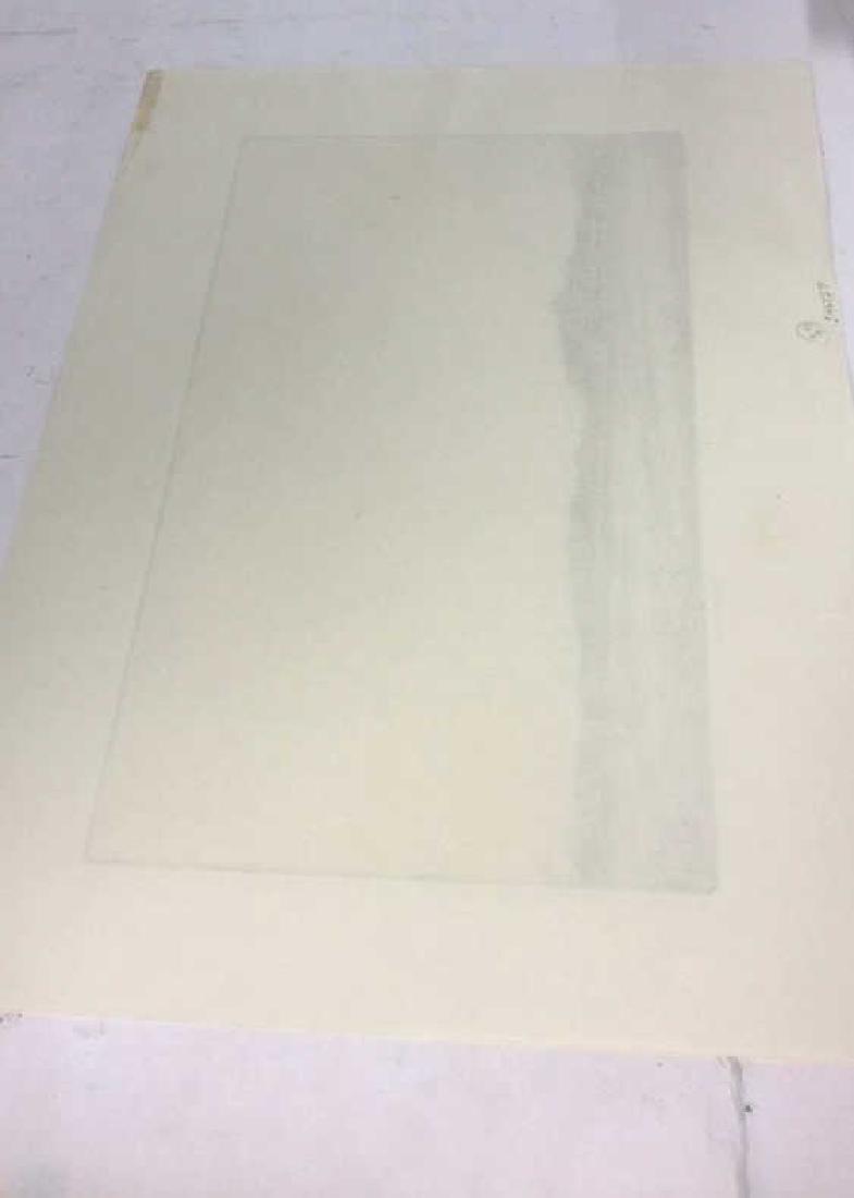 H. Stuart Brown Etching Artwork - 8