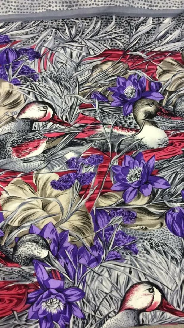 Duck Pond Illustrative Shawl Throw - 3