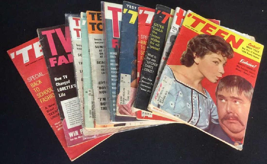 Lot 14 Vintage Teen And TV Magazines - 9