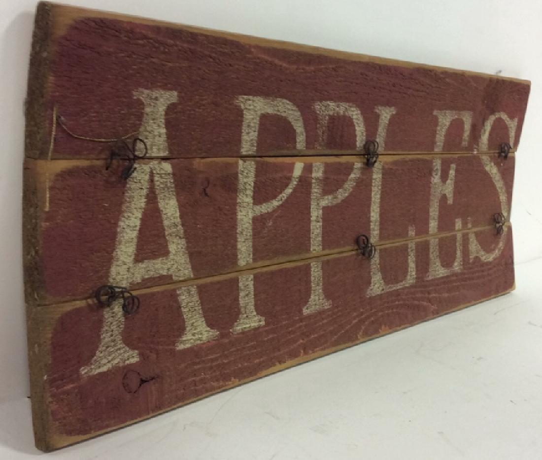 DARLENE DESIGNS Handcrafted Apples Sign - 5