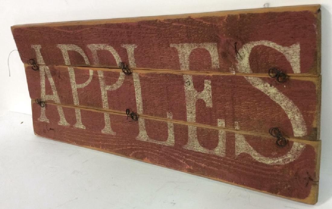 DARLENE DESIGNS Handcrafted Apples Sign - 6