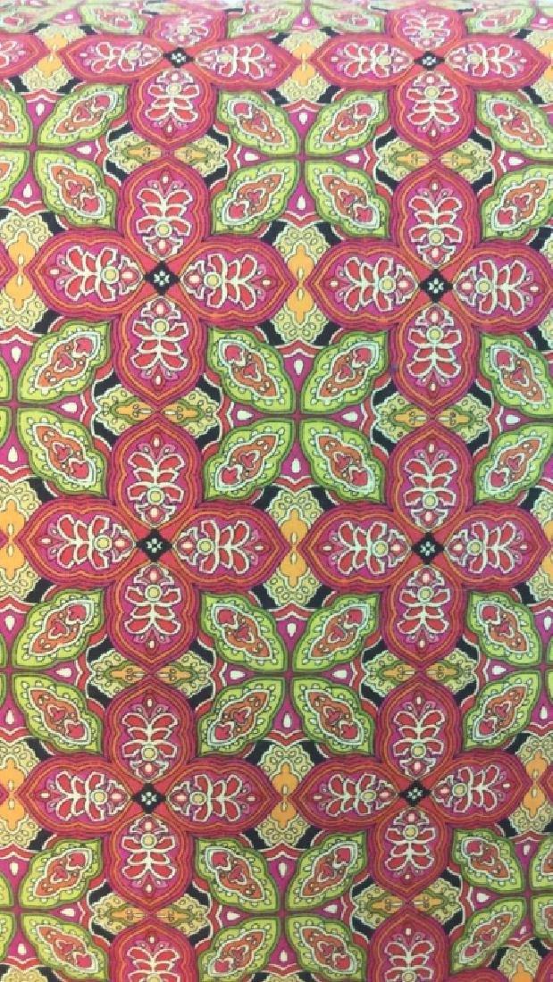 Lot 4 Colorful Decorative Throw Pillows - 8