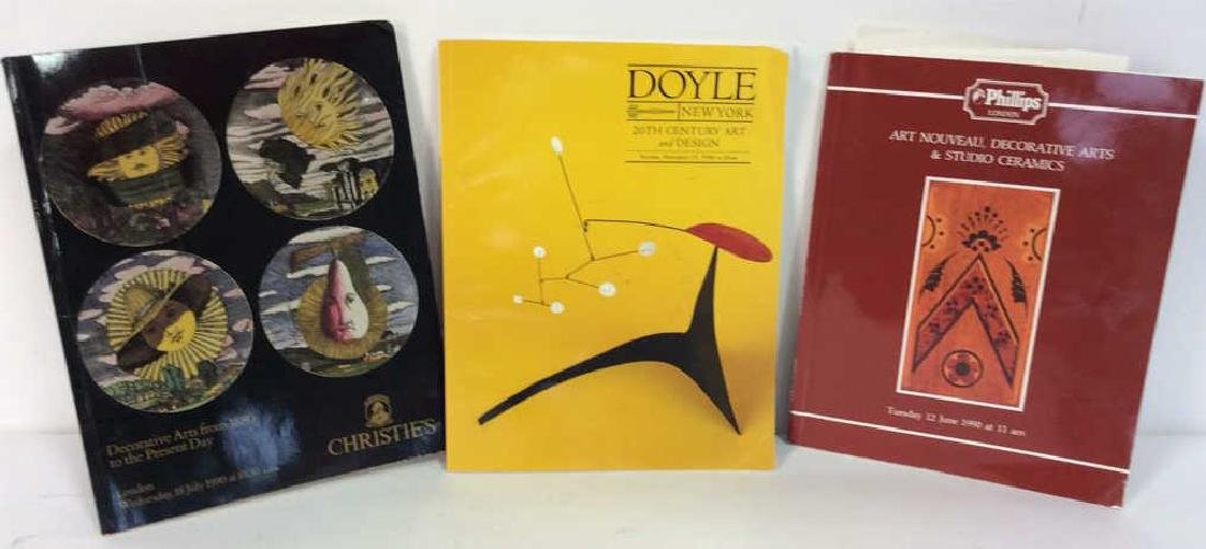 Lot 3 Art and Design Vintage Reference Books