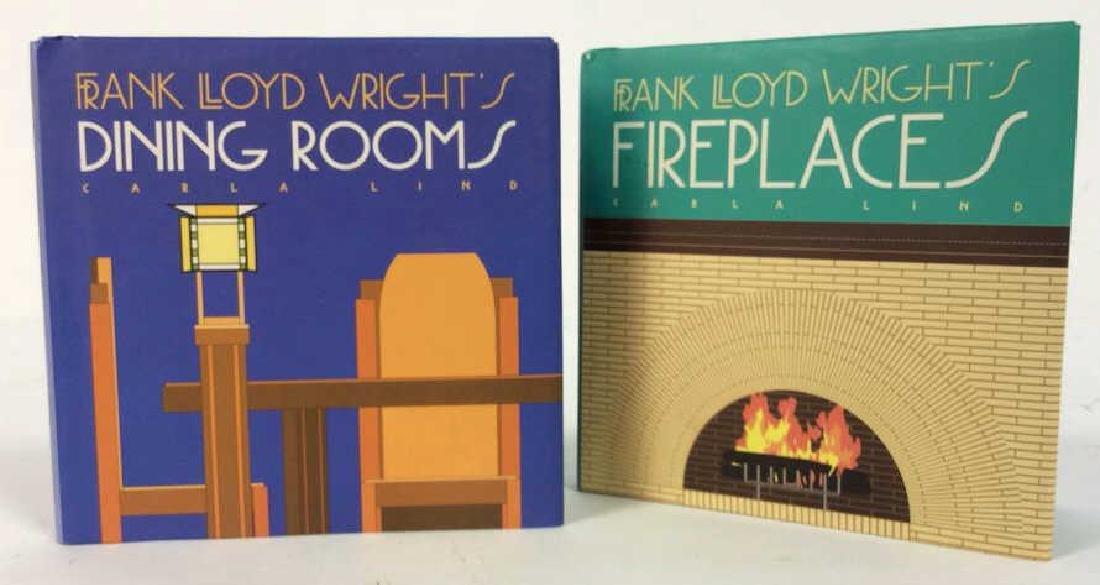Pair Frank Lloyd Wright's Coffee Table Books