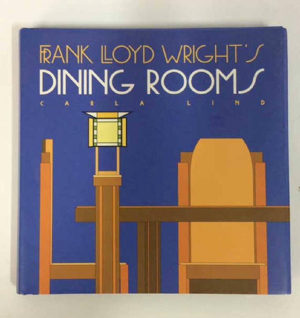 Pair Frank Lloyd Wright's Coffee Table Books - 2