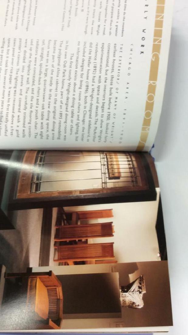 Pair Frank Lloyd Wright's Coffee Table Books - 5