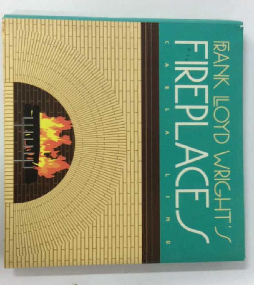 Pair Frank Lloyd Wright's Coffee Table Books - 6