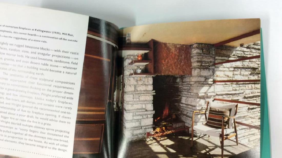Pair Frank Lloyd Wright's Coffee Table Books - 8