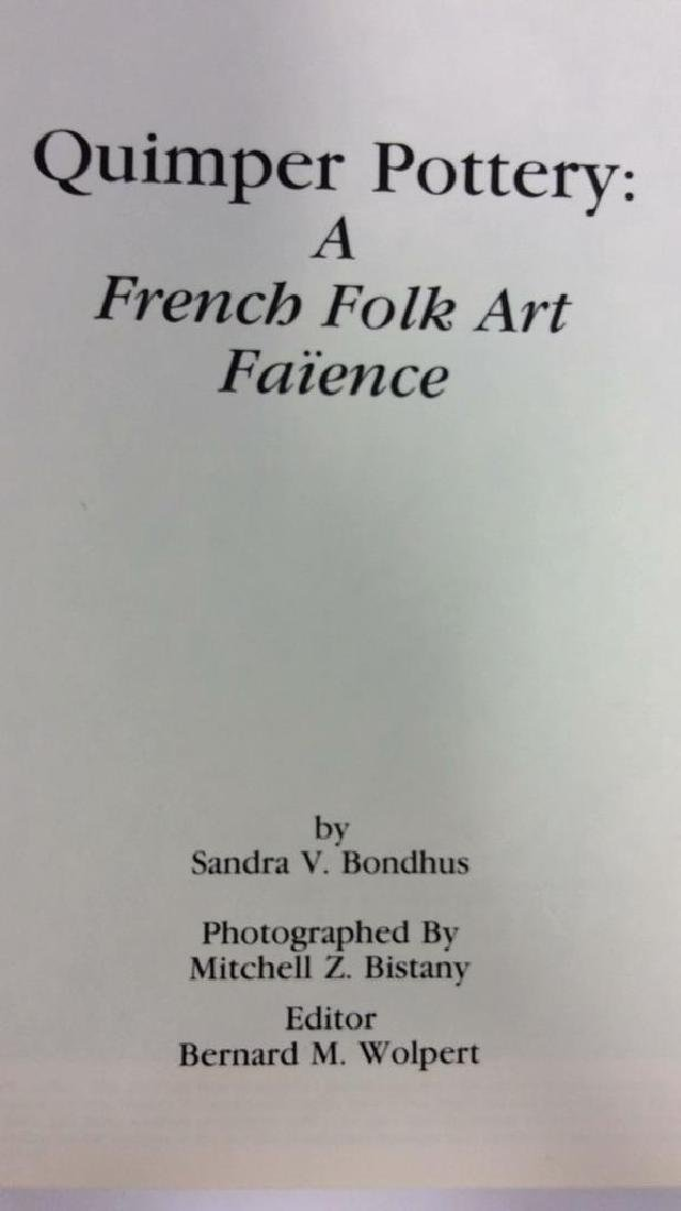 Quimper Pottery: A French Folk Art Faïence Book - 3