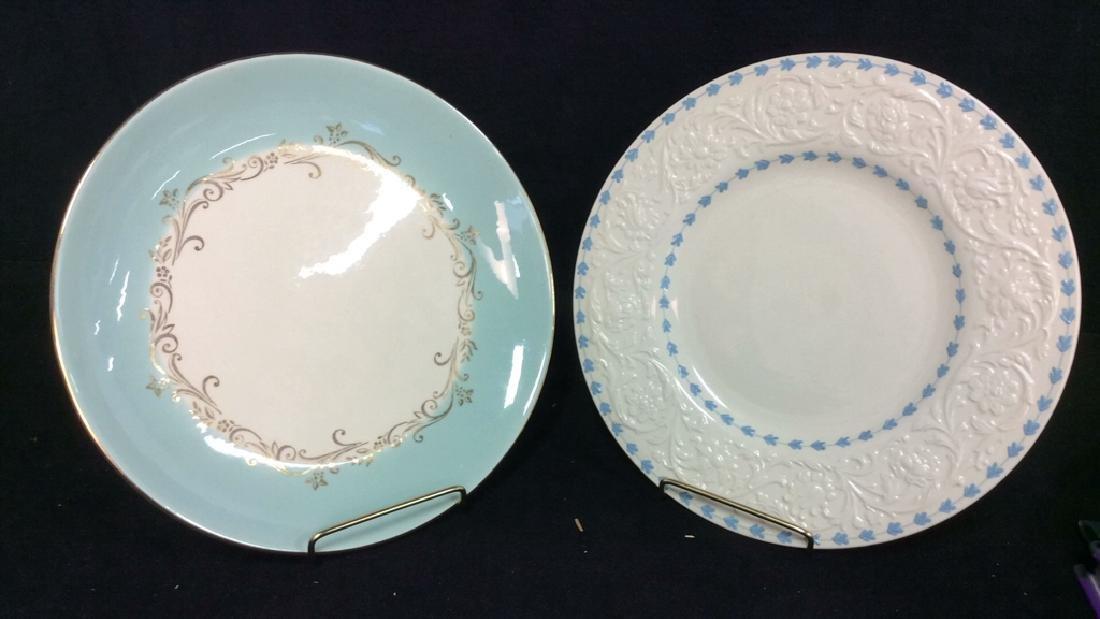 Lot 2 China Porcelain Plates