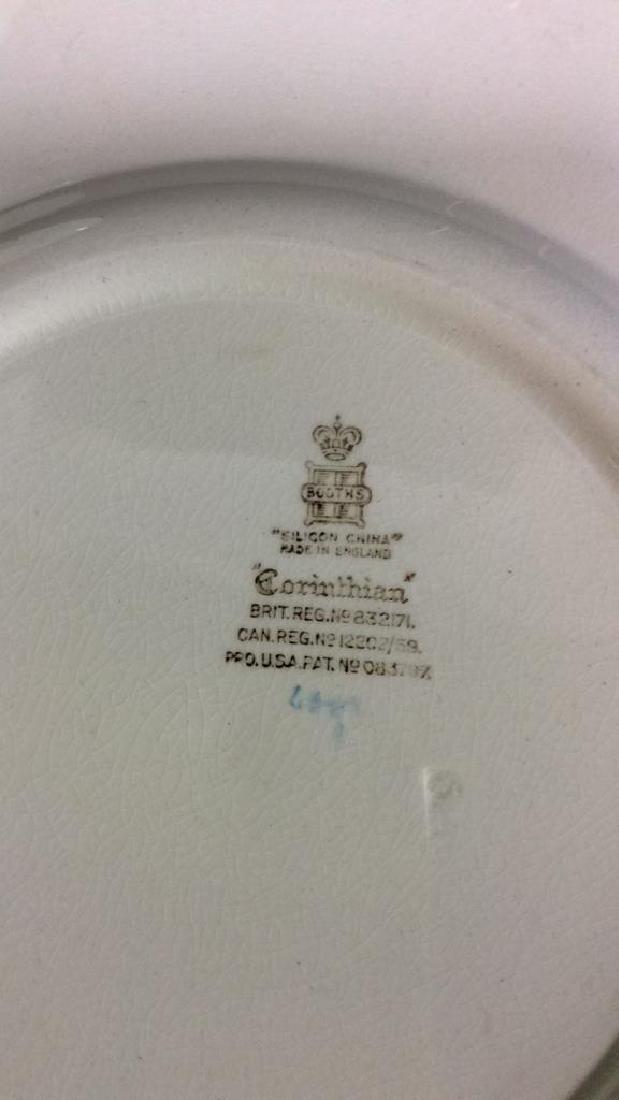 Lot 2 China Porcelain Plates - 4