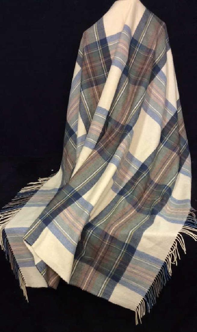 ASPREY Hilltop Brand Cashmere Wool Blend Shawl