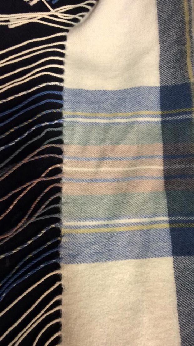 ASPREY Hilltop Brand Cashmere Wool Blend Shawl - 3