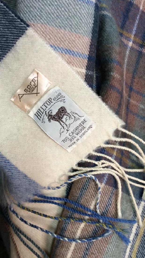 ASPREY Hilltop Brand Cashmere Wool Blend Shawl - 4