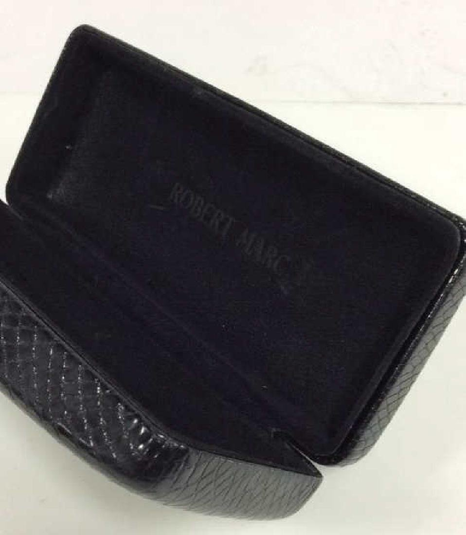Lot 3 Black Toned Leather Men's Accessories - 6